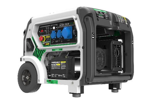 Generador Gas y Gasolina Natura 7000W Premium