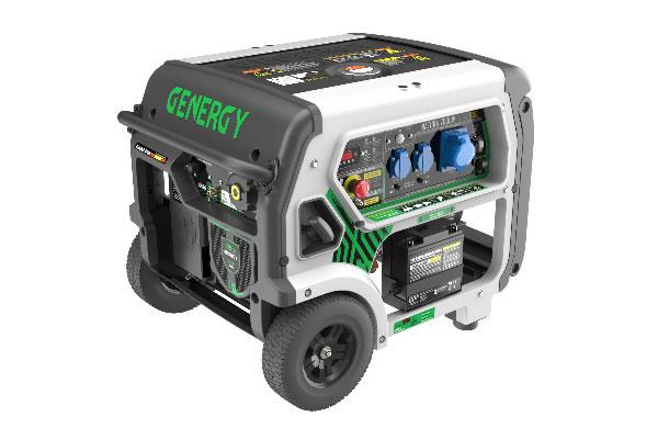 Generador Gas Doble Combustible Natura 7000W Premium