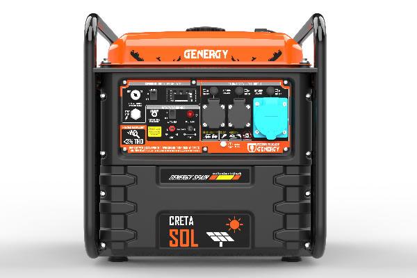 Generador Creta SOL 7500W Apoyo Solar