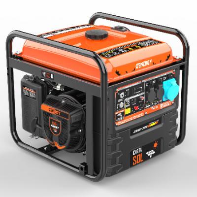 Generador automático de apoyo solar Creta SOL 7500W