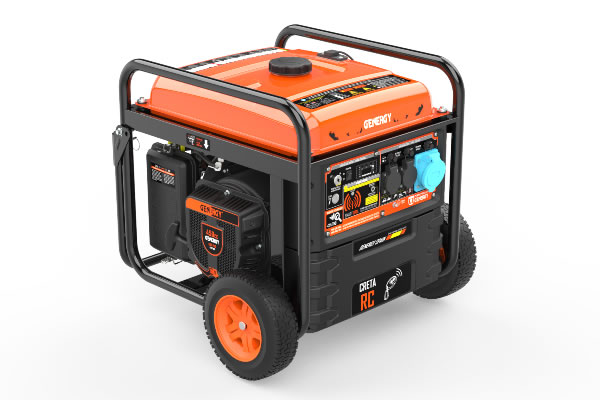 Generador Control Remoto Creta RC 7500W